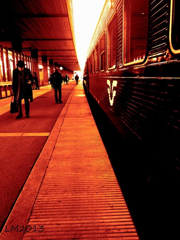 train jaune - Kopia